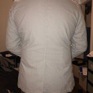 Uniqlo Suits & Blazers - Men's grey and white searsucker blazer